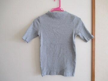 ユニクロ/UNIQLO カットソー・ハイネックTシャツ(五分袖)