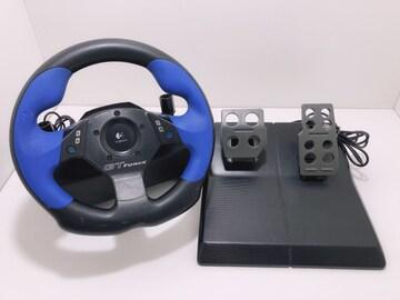 C217 Logicool GT FORCE E-UD4 レーシングコントローラー