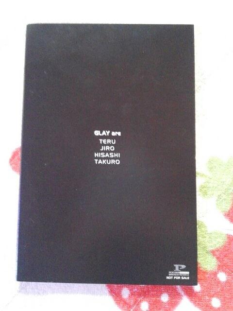 GLAY REVIEW  ポストカード☆☆ < タレントグッズの