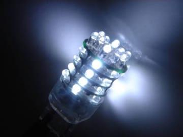 激照!T20型36連LEDシングルウェッジバルブ ホワイト