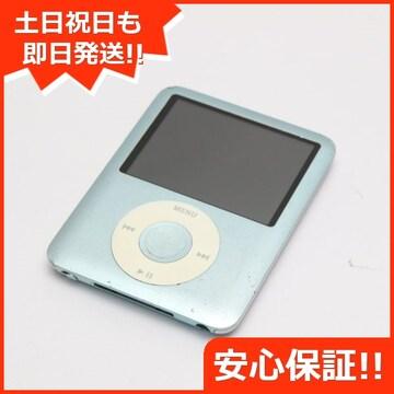 ●安心保証●良品中古●iPOD nano 第3世代 8GB ブルー●