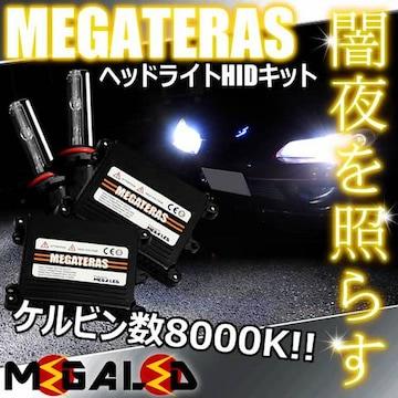 Mオク】ステップワゴンRF1/2系後期/ヘッドライトHIDキット/H1/8000K