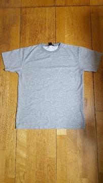グレー 無地 Tシャツ L サイズ