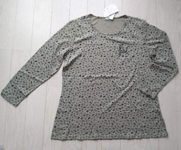ホールマーク★LL★アニマル柄トップス★7分袖Tシャツ★新品★大きいサイズ