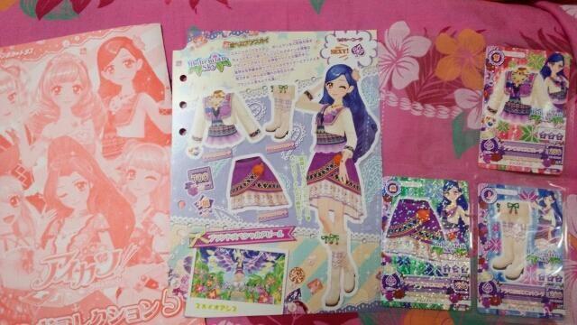 アイカツ★ジャンボカードダス★ブランドコレクション5★そら★新品オリジナルカード  < トレーディングカードの