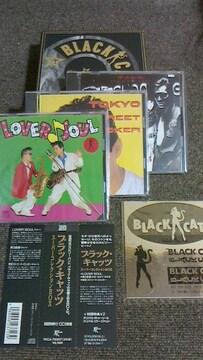 ブラックキャッツ美品CD 3枚組 ロカビリー クリームソーダ マジック ロデオ wface バンド