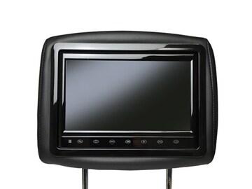 10.1インチワイド液晶ヘッドレストモニター  黒