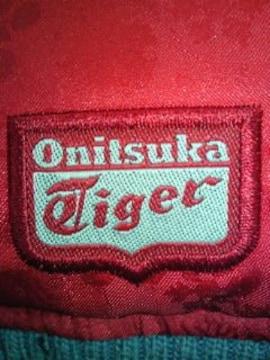Onitsuka Tiger オニツカ タイガー アシックス ダウン ベスト レッド XLサイズ
