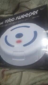 ロボスイーパー【自動で床を掃除するクリーナー】ホワイト