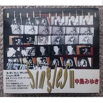 KF  中島みゆき  singles�U シングルス2