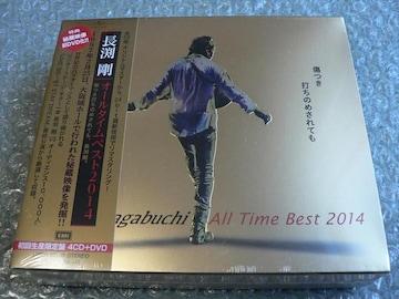 長渕剛/All Time Best 2014【4CD+DVD】初回盤/ベスト58曲/新品