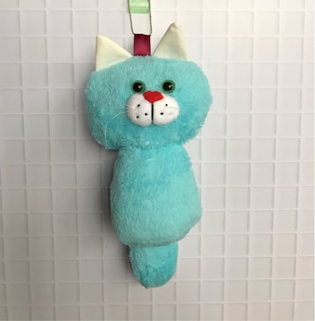 大きなみのむし猫chanチャーム★handmade