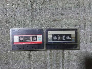 録音使用済カセットテープ マクセル UR 90 TDK AR-X 46 ノーマルポジション