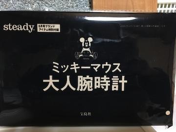 ☆非売品☆ミッキーマウス☆大人腕時計☆