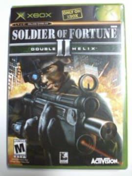 (XB)SOLDIER OF FORTUNE2 DOUBLE HELIX/ソルジャーオブフォーチュン☆レア!