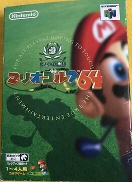 ●送料込★任天堂 マリオゴルフ64【中古激安】