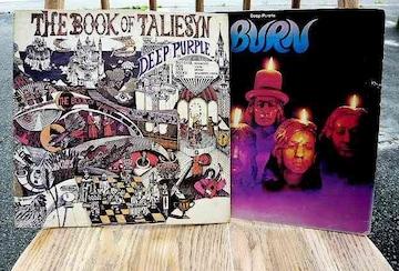 DEEP PURPLE BURN,the book of taliesyn 2枚