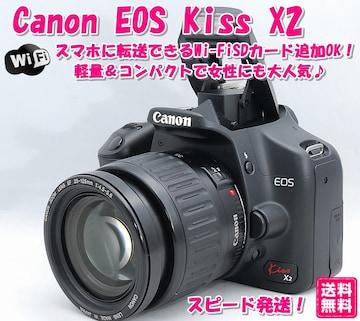 Wi-FiSDカード追加OK! Canon kiss EOS X2 キャノン