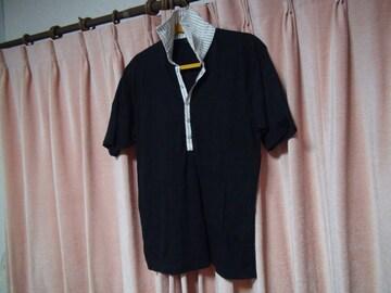 Gainerのポロシャツ(M)ブラック!