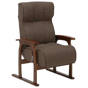 座椅子(ブラウン) LZ-4303BR