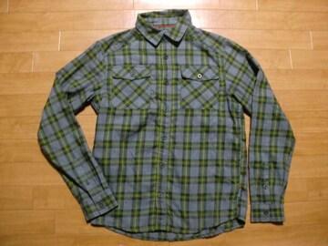 マウンテンハードウェア ネルシャツ Sサイズ