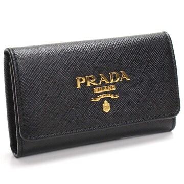 PRADA 4連キーケース 1PG004 QWA F0002 NERO