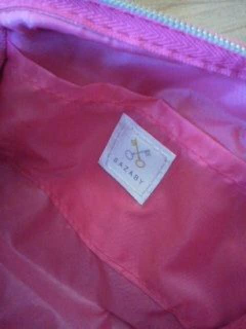 SAZABY/サザビー上品ジャガード織りポーチ/送料120円 < ブランドの