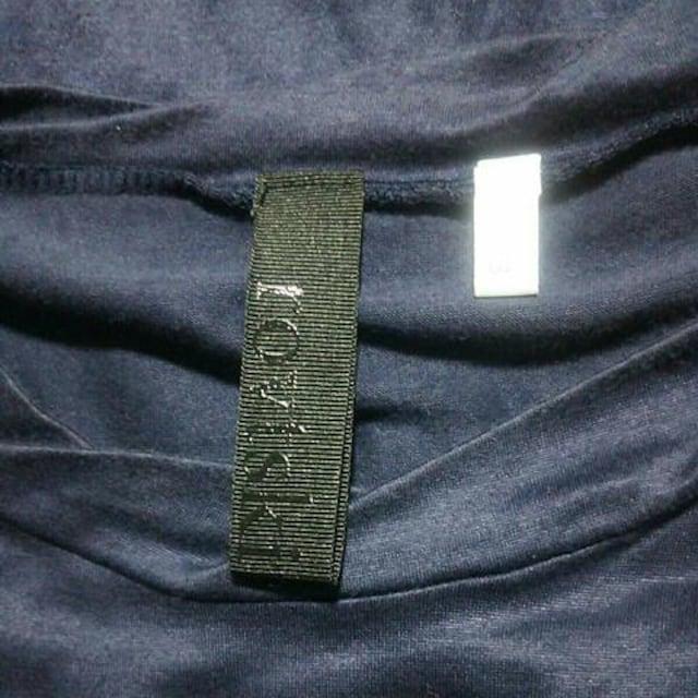rovtskiデザイン半袖カットソーサイズ3ネイビー日本製ロフトスキー紺色Tシャツドメスティック < ブランドの