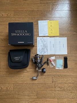シマノ 新品13ステラSW6000HG STELLA 未使用