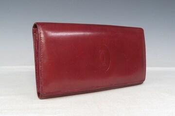 Cartier カルティエ マストライン 2C 長財布 サイフ