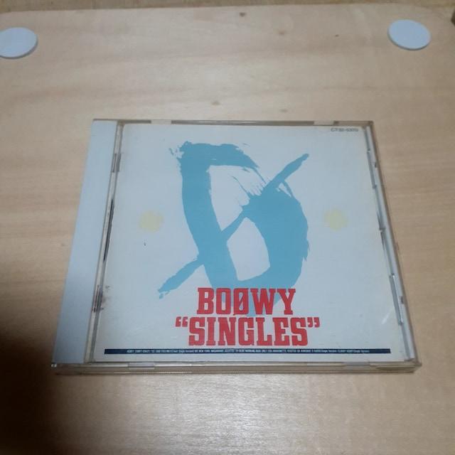 BOOWY/ シングルス CD アルバム  < タレントグッズの