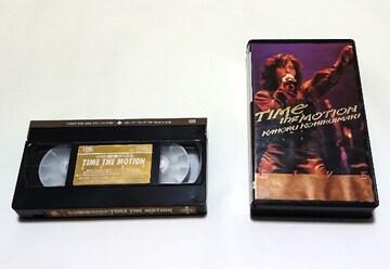 小比類巻かほる/VHS/TIME THE MOTION LIVE/未DVD化