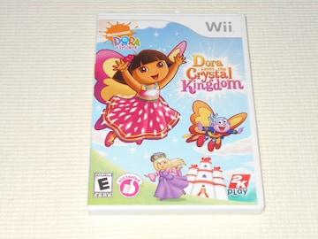 Wii★DORA the EXPLORER Dora saves the Crystal Kingdom 海外版