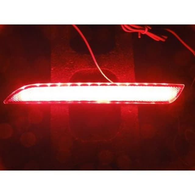 ホンダ48連LEDリフレクターLEDリアバンパーライトステップワゴンインサイトフィットストリームCR-Z < 自動車/バイク