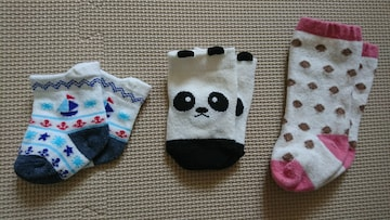 新生児靴下3足セット