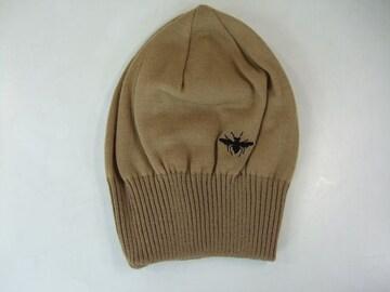 超美ディオールオム ニット 帽子 ブラウン
