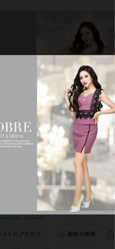 ソブレフリルレースセットアップピンクXL新品15180円ドレス