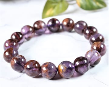 アメジストガーデン(庭園紫水晶)ブレスレット♪