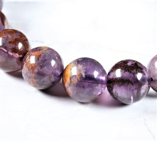 アメジストガーデン(庭園紫水晶)ブレスレット♪ < 女性アクセサリー/時計の
