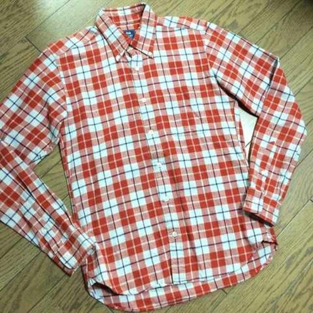 美品BEAMS チェックシャツ ビームス  < ブランドの