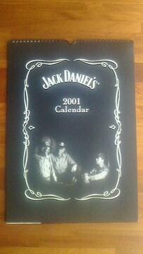ジャックダニエル  2001年カレンダー 未使用 記念年の方いかがですか