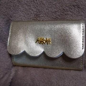 AHKAH ゴールド財布 未使用状態