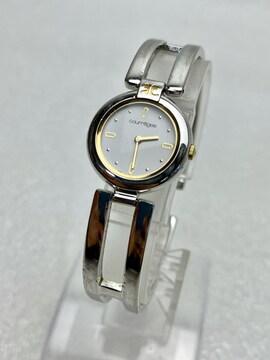 T009 Courreges クレージュ クオーツ レディース 腕時計 稼働品