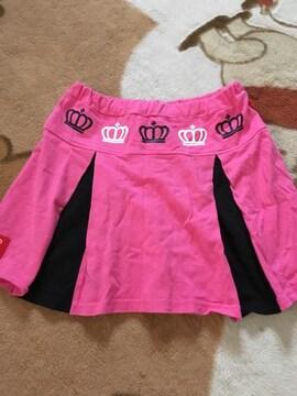 美品 BABYDOLL スカート 130