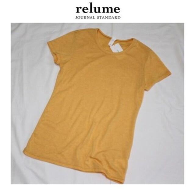 ジャーナルスタンダード*journal standard relume★柔らかTシャツカットソー/新品 < ブランドの
