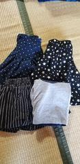 女児150&160スカート�Cセット