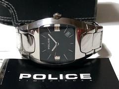 良品 1スタ★POLICE ポリス【専用箱・購入証明・コマ付】腕時計