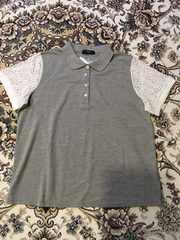 袖レースポロシャツ☆サイズ4L新品タグ付き
