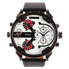 人気 腕時計 メンズ レディース カジュアルブラックホワイト