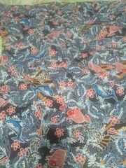 ☆新柄黒×大漁旗柄ダボシャツ3L